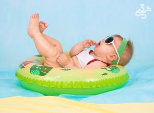 Bebés e Crianças - Dias de sol em segurança