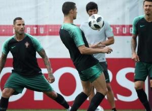 Portugal na máxima força para jogo com Marrocos