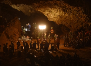 Tailândia: Todos resgatados